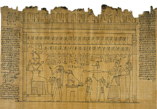 Ancient Egyptian Papyrus Paper February | 2009 | Conc...
